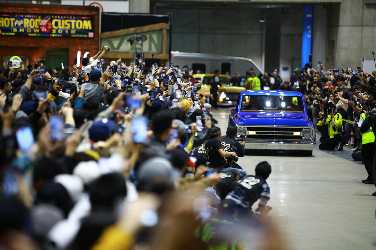 South City Rod & Custom - at Mooneyes Hot Rod Custom Show in Yokohama, Japan - Photo by Mooneyes