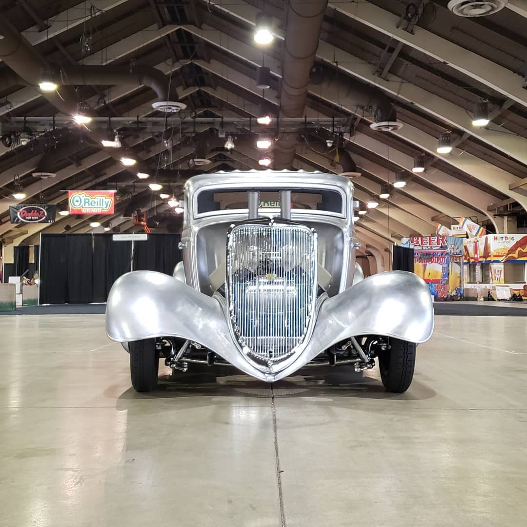 Coby Gewertz 1934 Ford Coupe - South City Rod & Custom