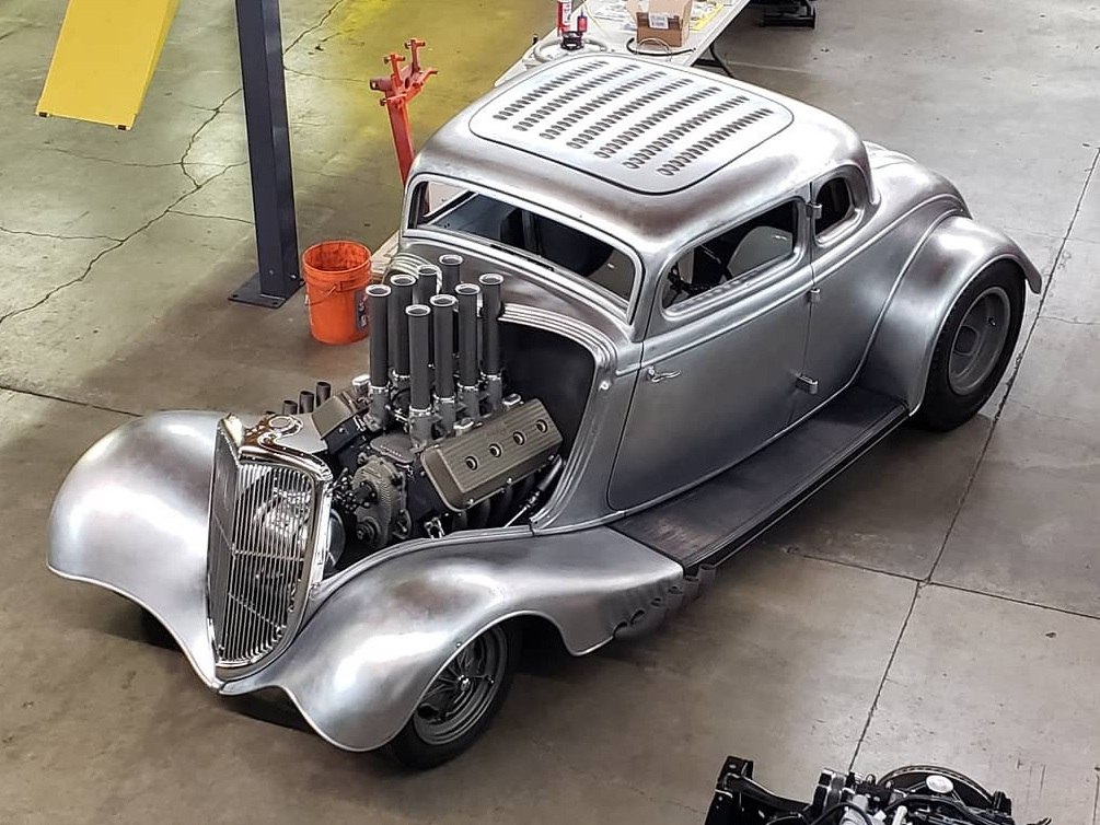 Coby Gewertz 1934 Ford Coupe