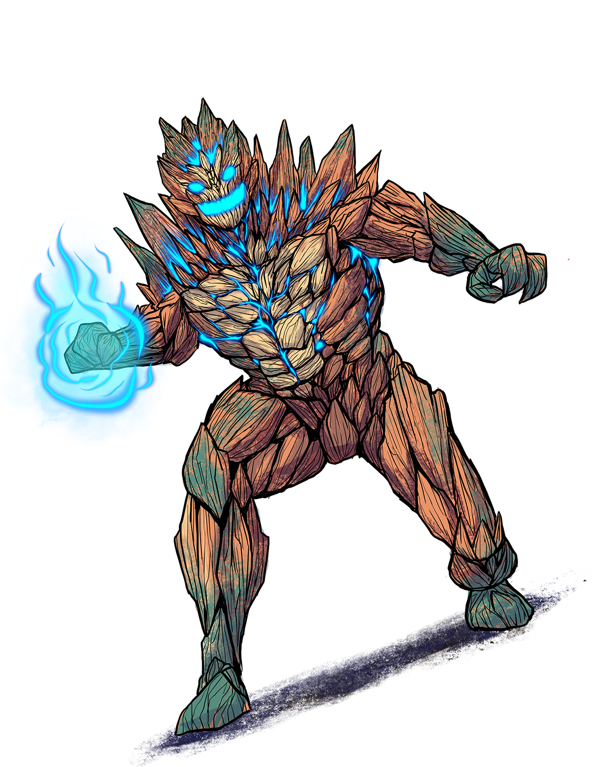 Vulcan, one of the alien heroes from the Titan City Universe