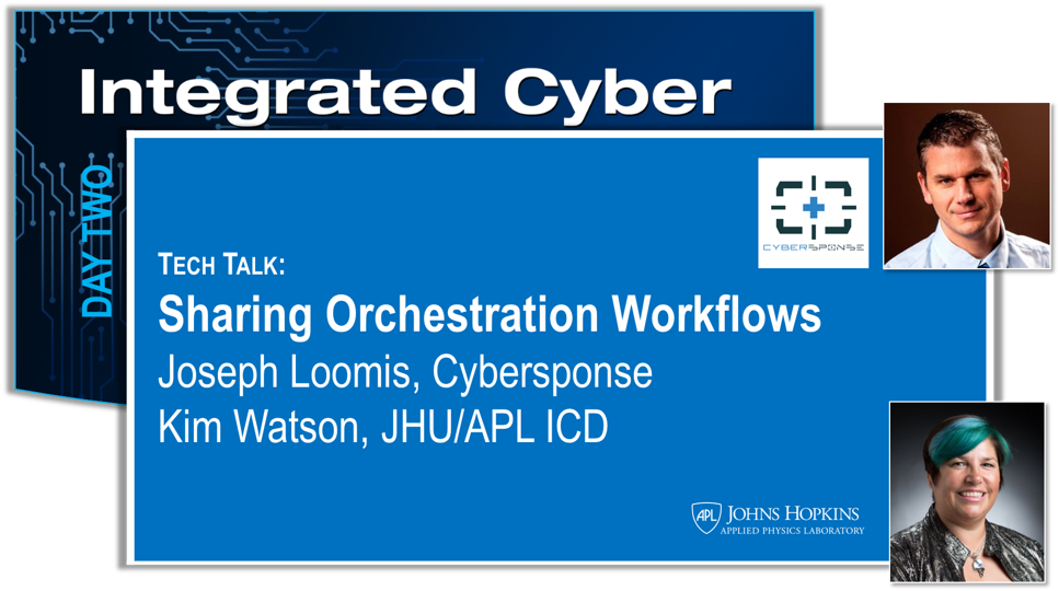 In an effort to advance the sharing of orchestration workflows, JHU/APL identified a level of detail that seemed appropriate for cross organizational sharing and created a reference implementation. The reference implementation uses BPMN with data objects representing variables and OpenC2-like commands. Cybersponse, a key supporter of the extended cyber defense community and associated standards, partnered with APL to refine the reference implementation. This refinement is based on the perspective of how an orchestrator could ingest and represent the imported workflow in a manner that simplified tailoring for a specific environment, adding in automation as desired. This session provides a demonstration of the reference implementation and discusses how it can be ingested and used within Cybersponse.    View Slides
