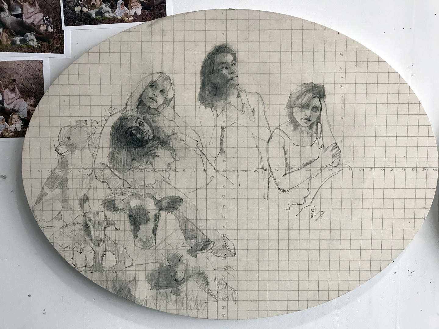 drawing in animals