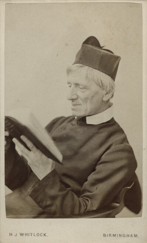 J ohn Newman , by Henry Joseph Whitlock, albumen carte-de-visite, 1860s, used with permission from the British National Portrait Gallery