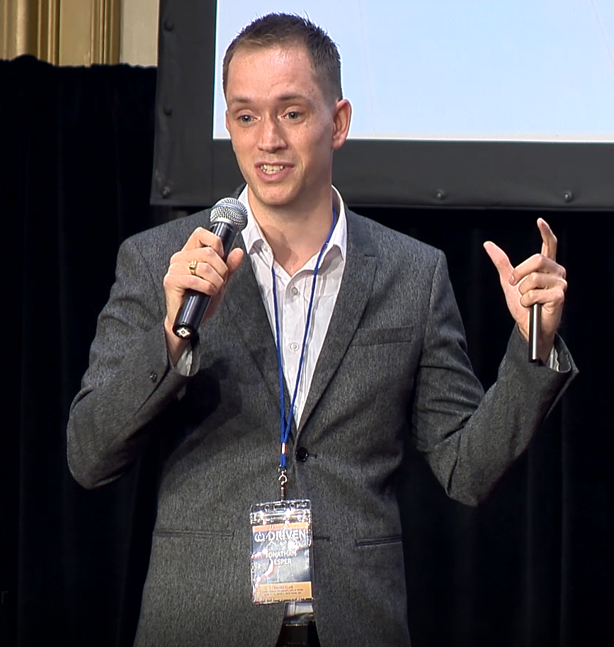 Jonathan Jesper - Keynote AddressDriven 2018