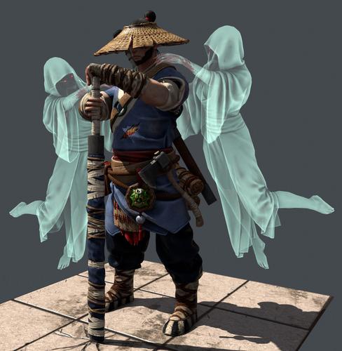 Fangxiangshi - Ghost Hunter Archetype