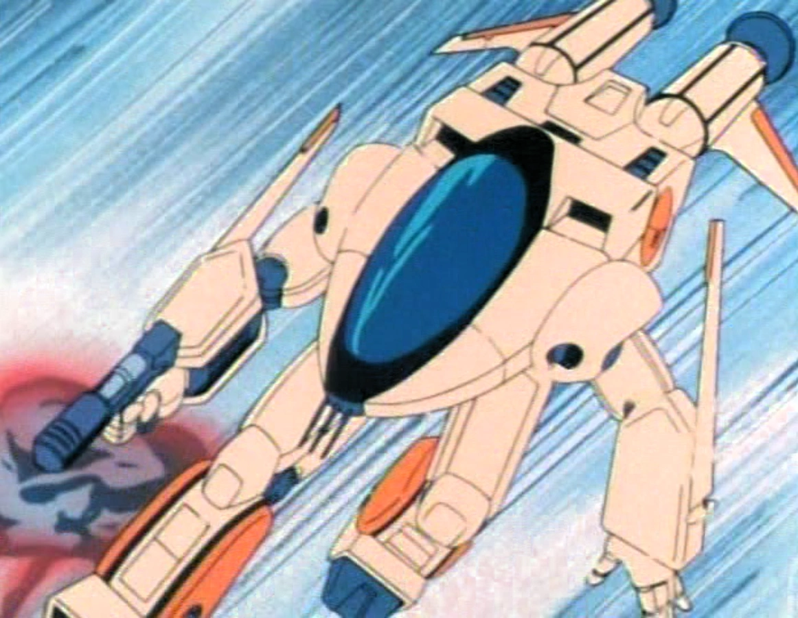 """"""" The Logan, despite taking the form of a fighter jet in flight mode, transforms into a robot best described as 'what if a speedboat had arms and legs.'"""""""