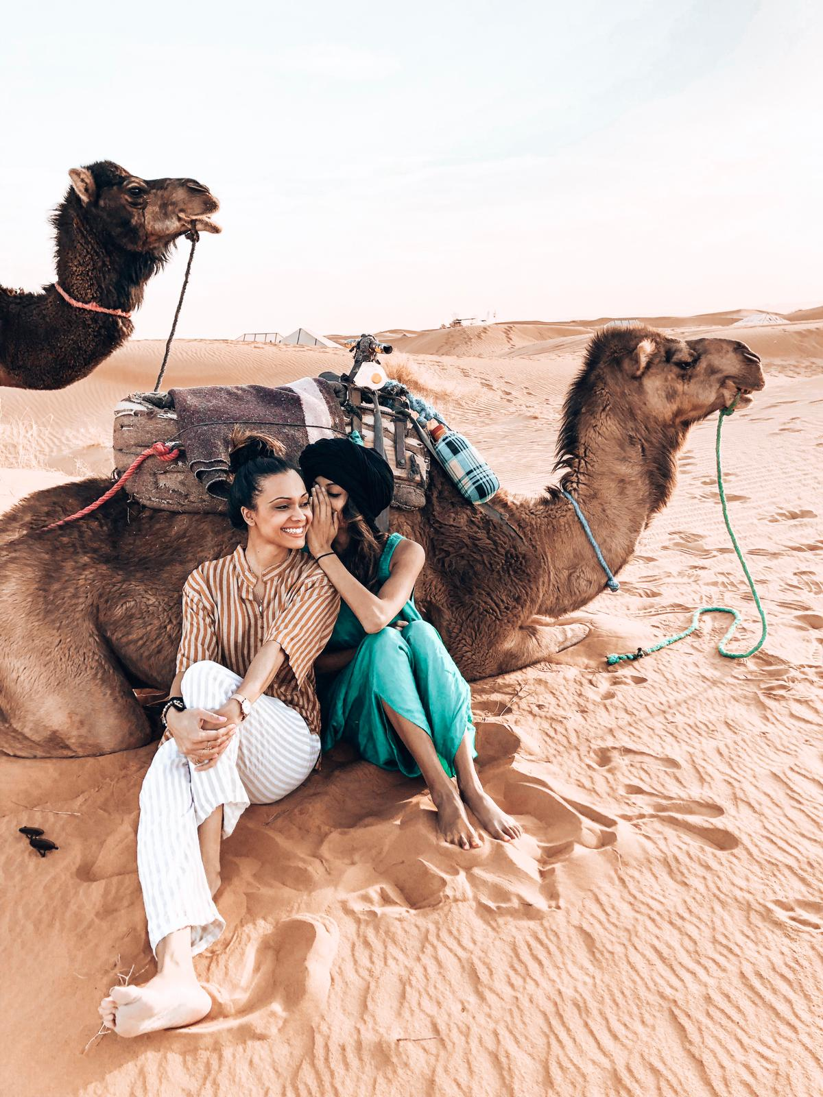 September 30 - October 7, 2019 - 7 Nights / 8 DaysGroup Size: 16*1 spot left*Marrakech is a girl's dream come true. From roaming the colourful Souk markets to bathing in a traditional hammam, we can't wait to take you there!Our trip is made to indulge you in the Moroccan culture and have your soul filled with Moroccan memories. All our tours are paired with experienced local guides to keep everything as authentic as possible.All dining experiences will be paired between dining at the private villa, curated spots in the Medina, along with other local food stops.Expect to have a day or two to relax and unwind at your own leisure where you can go shopping, enjoy a traditional hammam, or even select an add on experience such as a Hot Air Balloon ride.Here's a little look into what you can expect:*Private Villa Accommodations, Sunset Camel Trek, Star Gazing in our Luxury Camp in the Sahara Desert, Drive through the Atlas Mountains and more**An Experience and Adventure Packed Itinerary Customized with Authentic & Local Experiences*