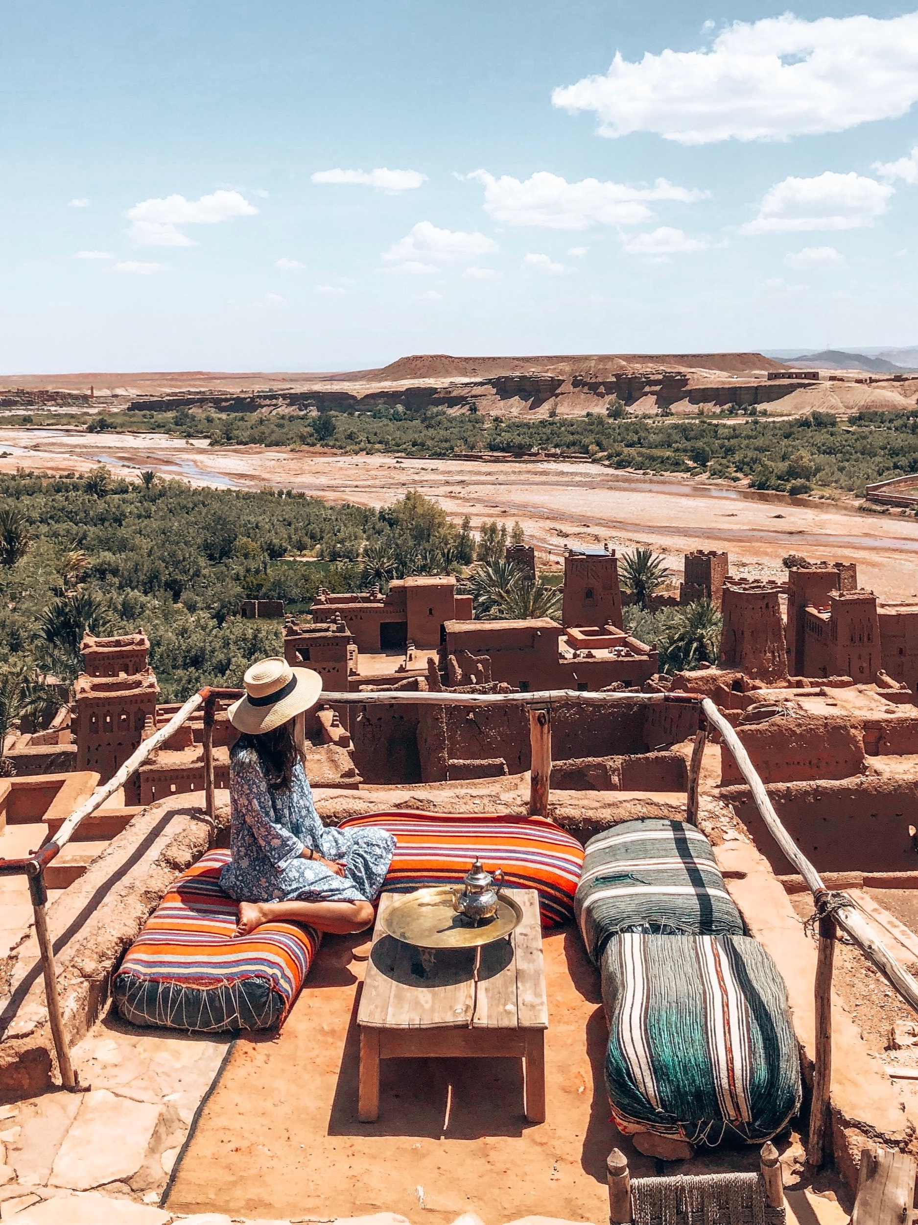 What's Included? - Beautiful Villa - Shared Accommodations (Double/Triple Occupancy)All Ground Transportation Including Airport TransfersAll Meals (Breakfast, Lunch & Dinner)All Tours and Excursion TicketsSouk Hopping at your own Leisure (shop till ya drop!)Bucket List - Glamping in the Middle of the Sahara DesertSunset Camel Ride in the DesertAuthentic Moroccan Cooking ClassDay Trip to EssouriaTrip to the Infamous YSL Gardens - Jardins MajorelleVisit to Ait-Ben-Haddou (Unesco World Heritage Site)A Visit to Bahia Palace and Koutobia MosqueClassic Hammam Bath and Spa ExperienceFriendly, Knowledgeable, and Fun Tribe LeadersSwag BagAdd on: Hot Air Balloon*Flights not Included*
