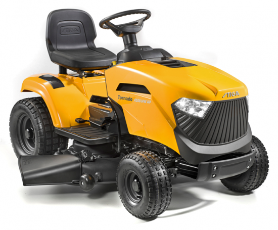 Stiga Ride-on Mowers - Perfect for large gardens, with various features and requirements: collecting, mulching clippings or side discharge. STIGA garden tractors are designed to go anywhere and powerful enough for all your garden needs.
