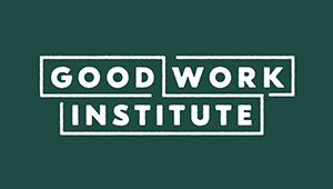 Good Work Institute   A non-profit with a mission to educate and connect a network of local community members and actively support their collaborative efforts to regenerate their places. Operating in the Hudson Valley, NY.   goodworkinstitute.org