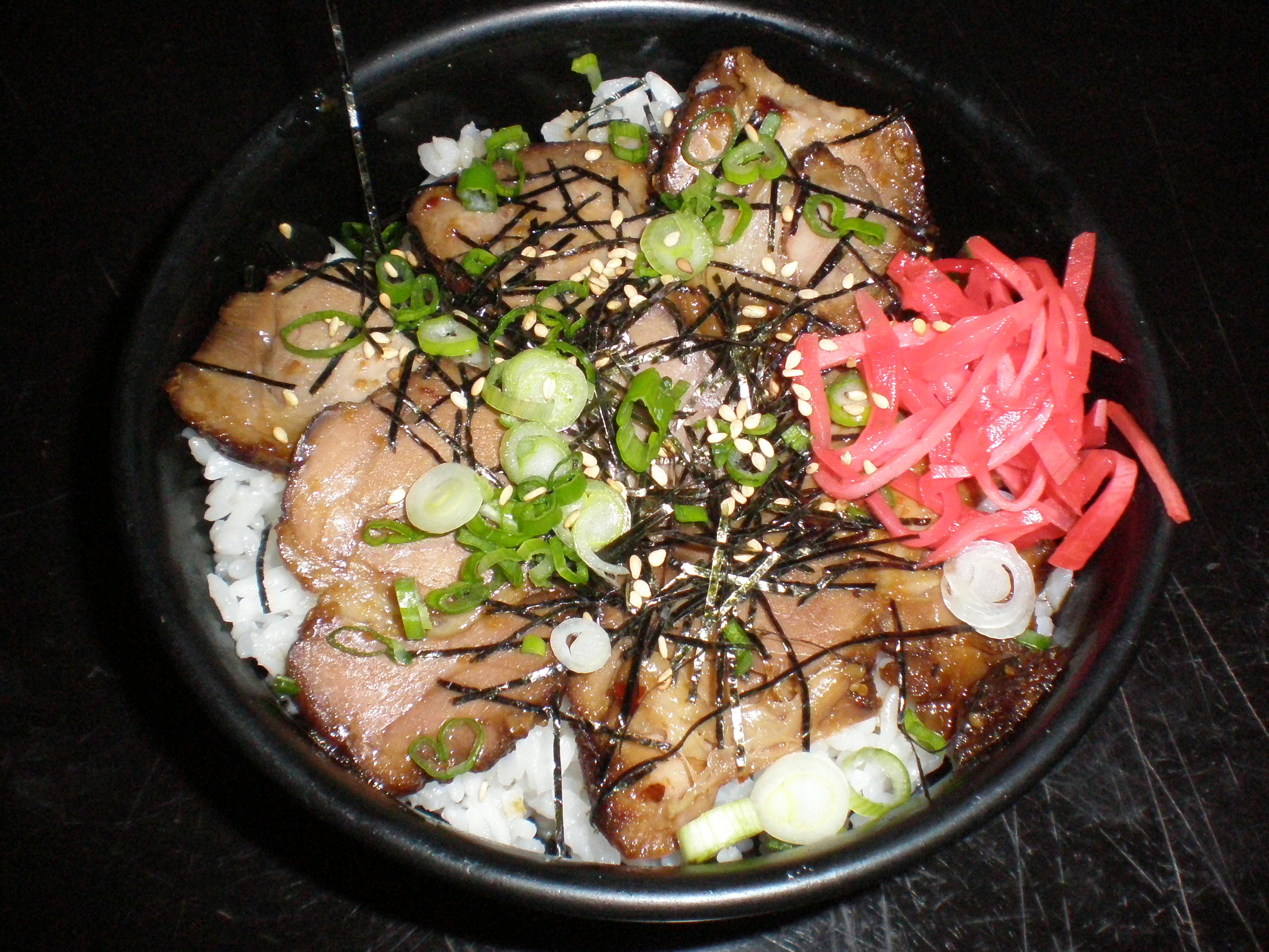 Chashu Pork and Rice
