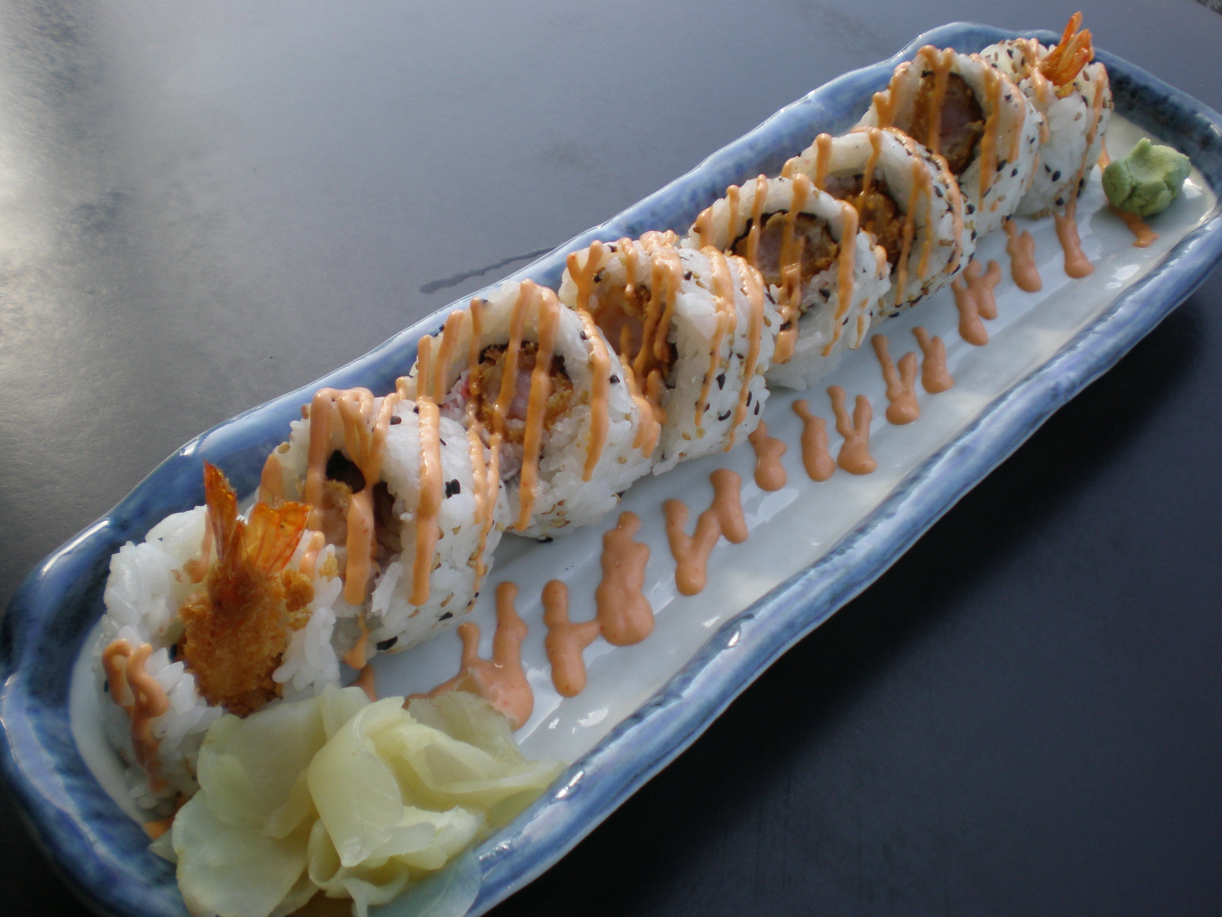 Fried Shrimp Roll with Spicy Mayo