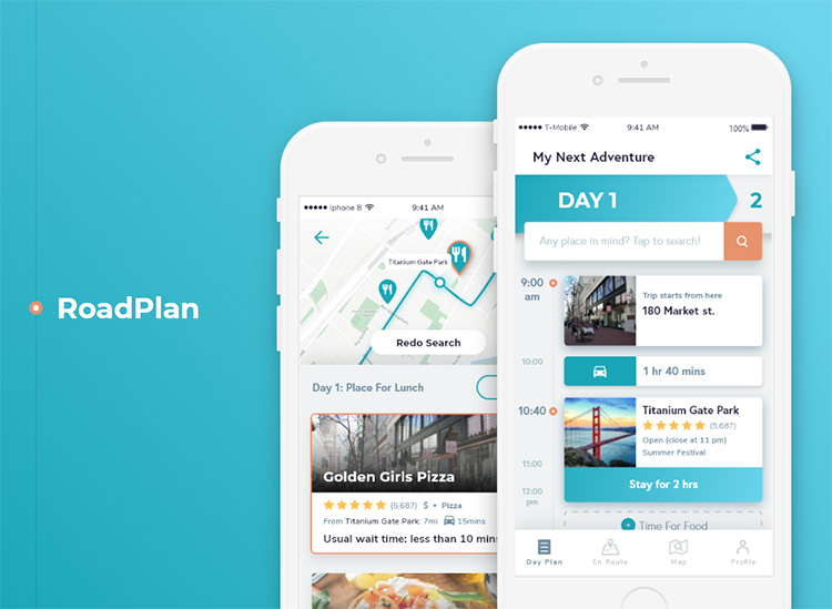 RoadPlan - Product Design Case Study