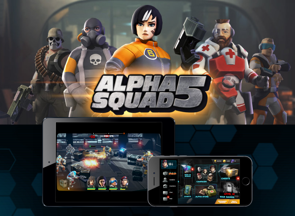 alpha Squad 5 - A Kongrogate AAA-budgeted game