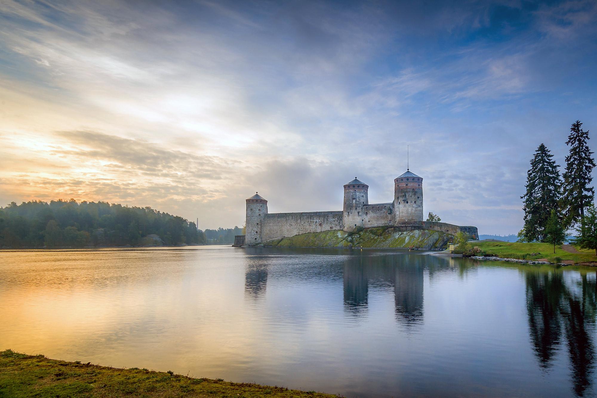 Olavinlinna Castle, home to the Savonlinna Opera Festival.