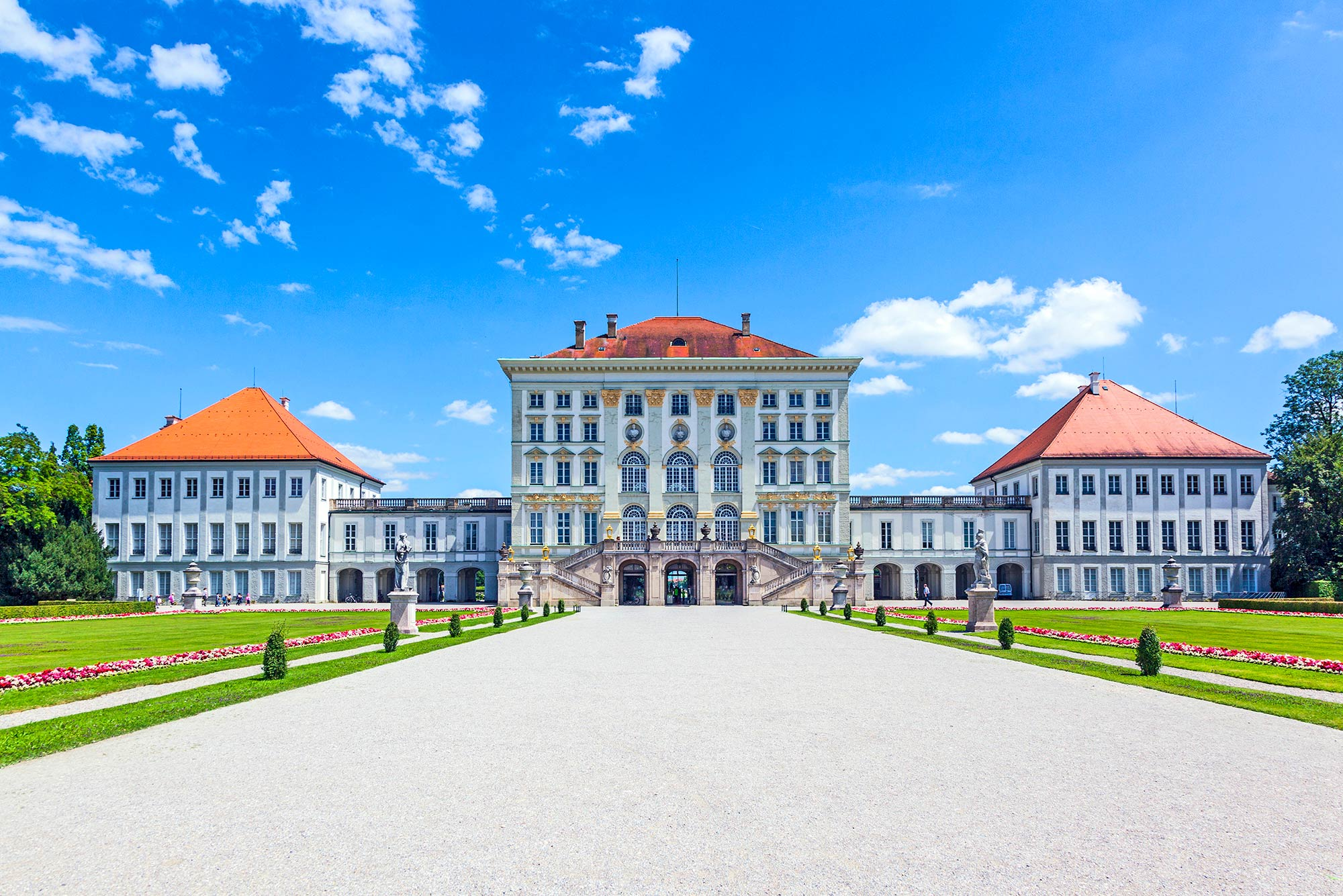 The beautiful Schloss Nymphenburg, where we will enjoy an exclusive private recital.