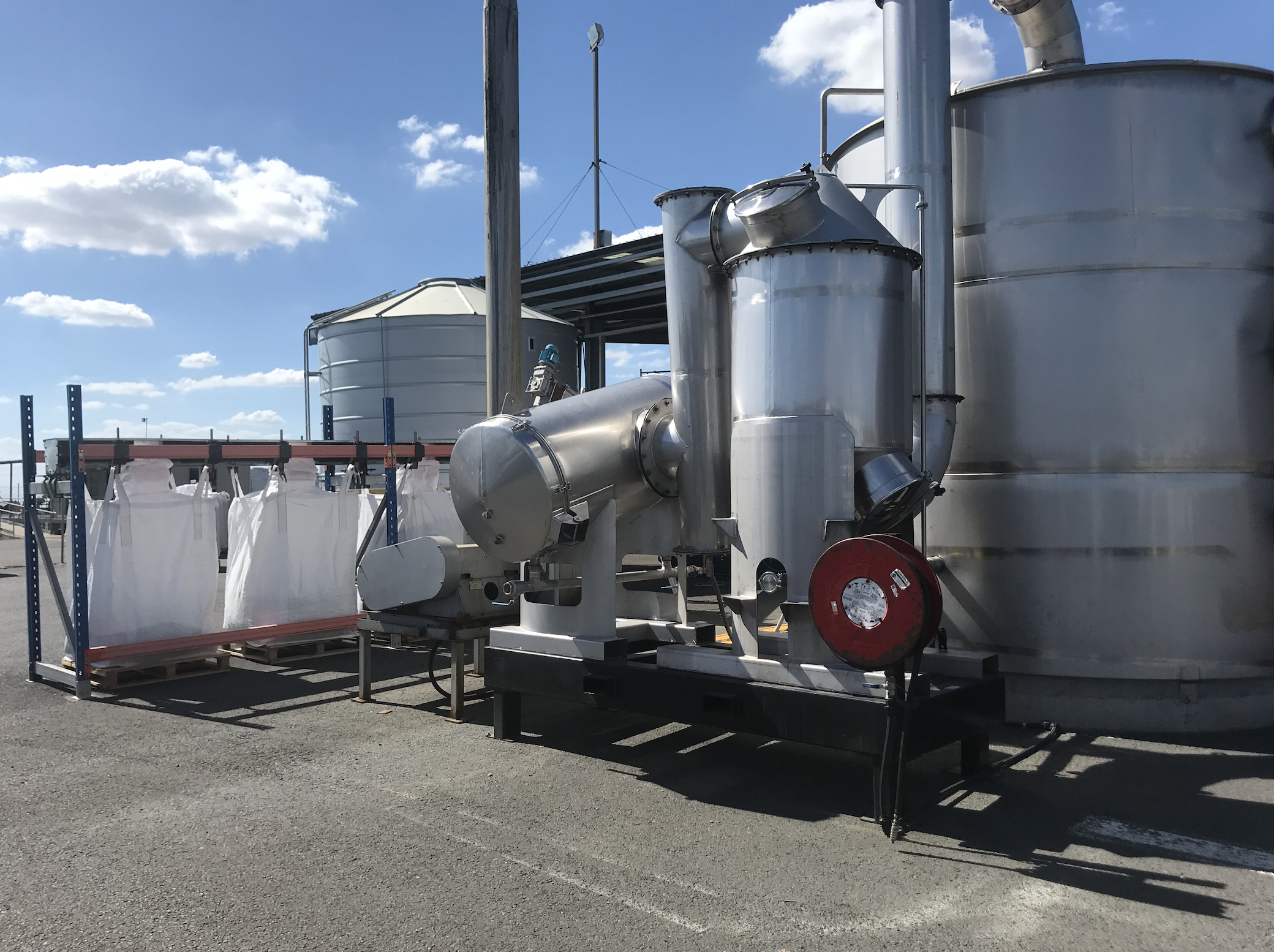 Our carbonisation plant in Toowoomba