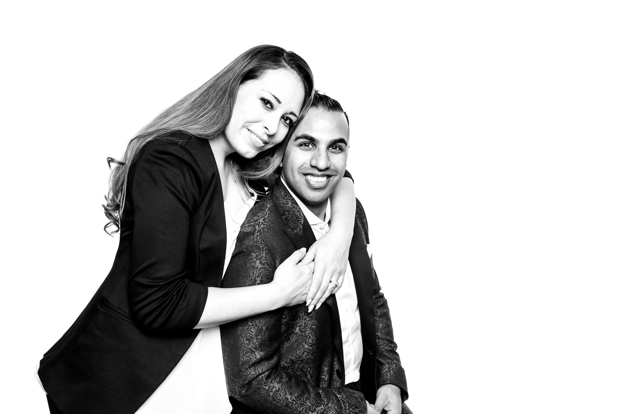 Lindsay and Fayyaz of Pez Productions, Calgary's hottest DJ company