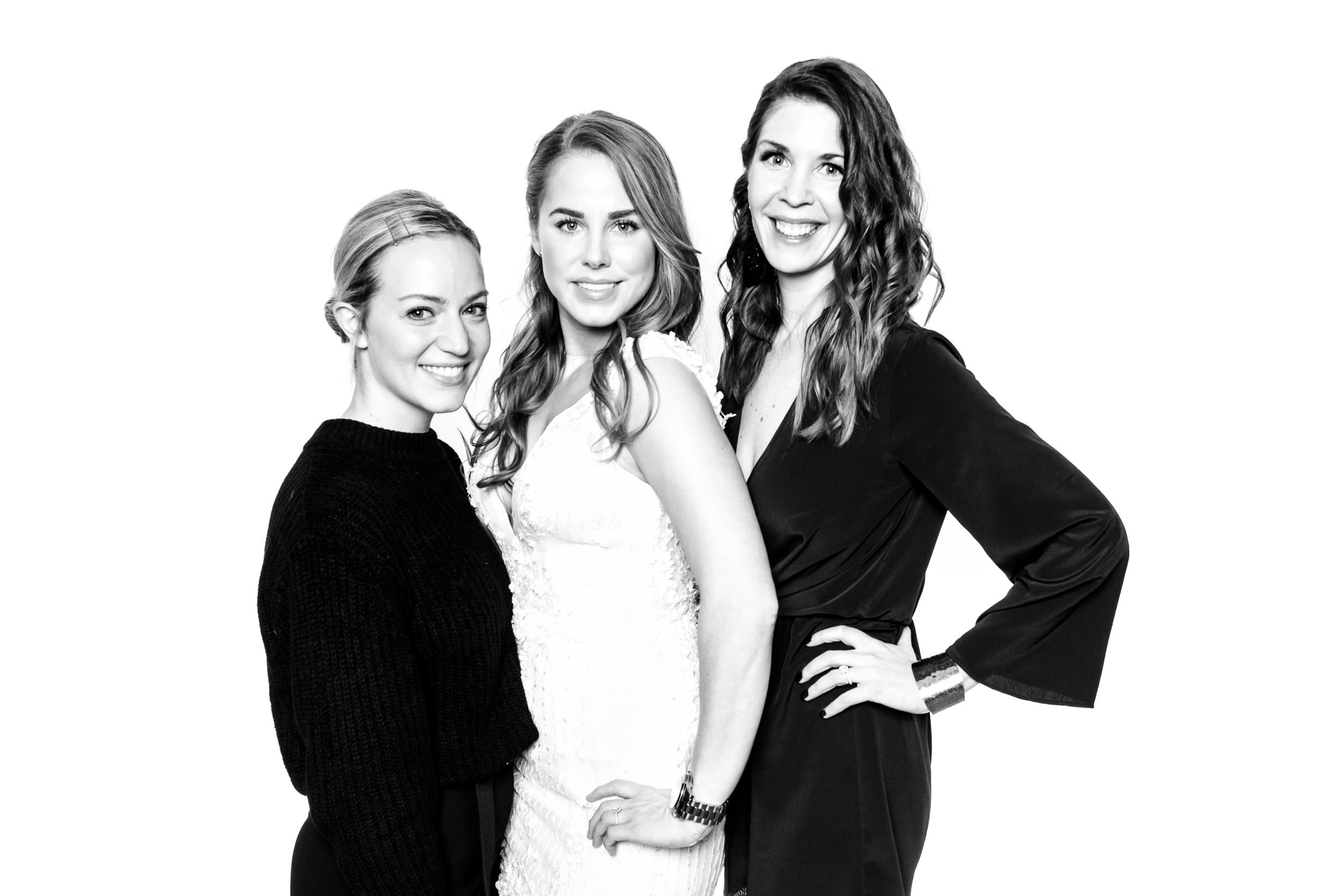 The beautiful ladies of Blush and Ravel bridal boutique