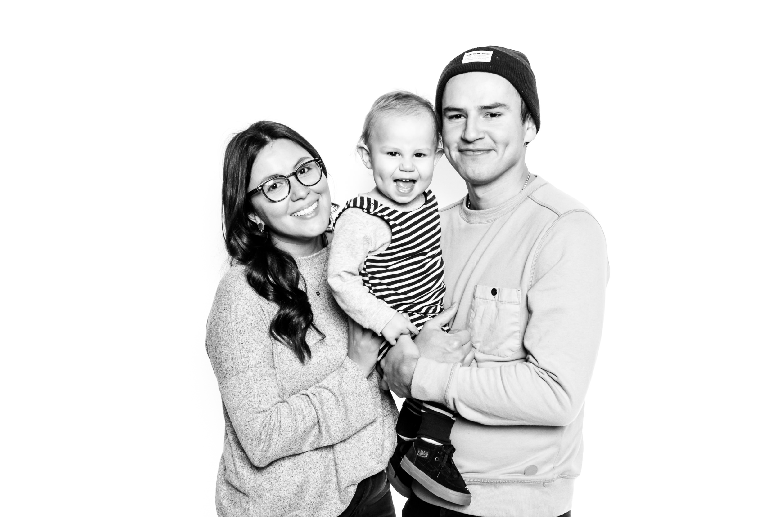 Juan & Angie and little Oliver (and his dimples)