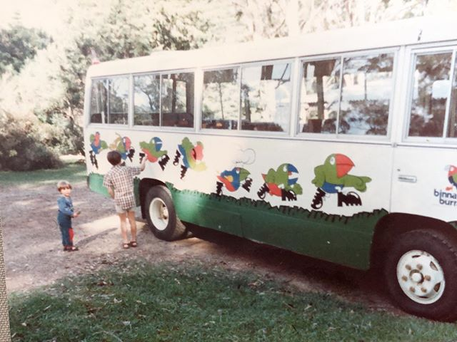 Heartbroken at the news that Binna Burra Lodge has been lost to bushfires. 😢 This photo circa 1985. #standwithbinnaburralodge