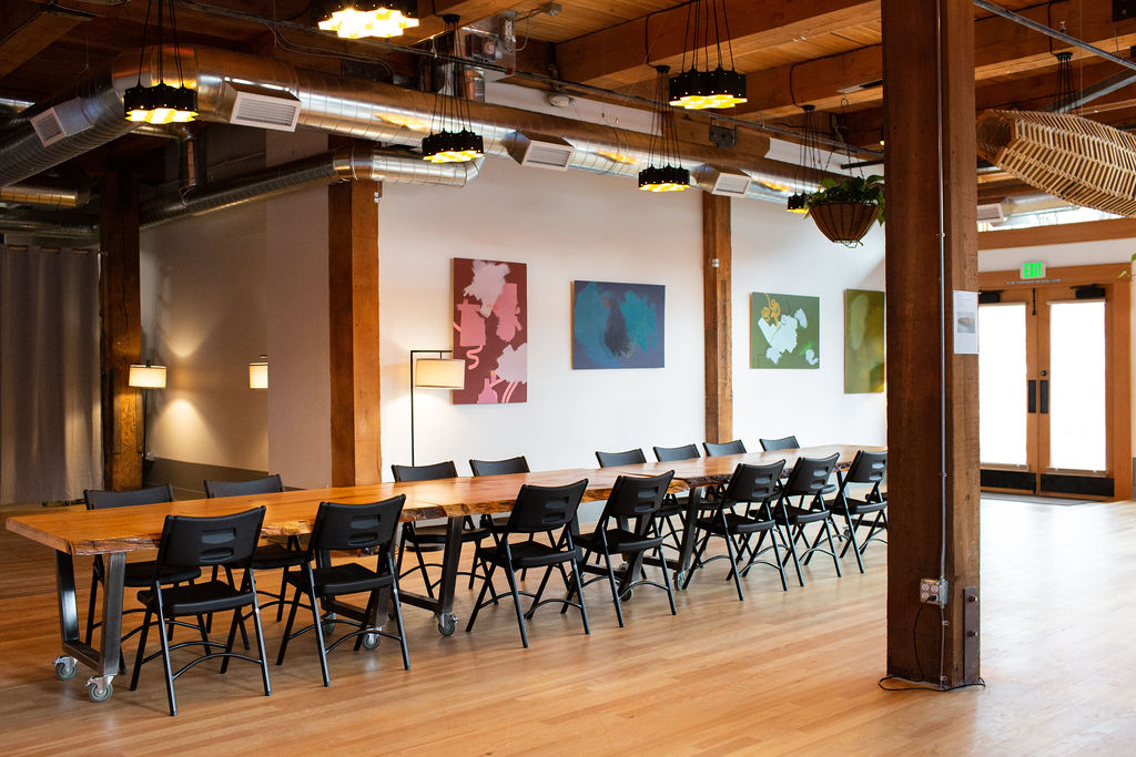 Neyborly's new event / social gathering space in Portland's Old Town neighborhood.