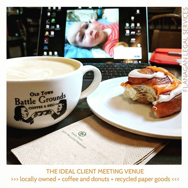 "Thomas Jefferson deemed coffee ""the favorite drink of the civilised world"" in 1824.  Nearly 200 years later and it  still rings true. . . . . . #ButFirstCoffee #WhenInDoubtGetADonut #ILoveMyJob #SmallBusiness #TheMOBNation #MOBNW #MomOwnedBusiness #BattleGroundWashington #SupportSmallBusinesses #FlanaganLegalServices"