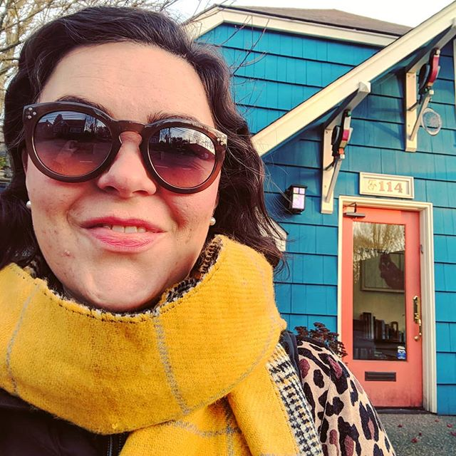 A few of my favorite things: • crisp autumn morning + big wool scarf • cheerful painted house-turned-business (parrots as knee braces!) • continuing legal education, learning from the best in the business  I'm in Seattle attending a two-day seminar, diving deep into estate planning.  Very excited to share what I learn with clients!