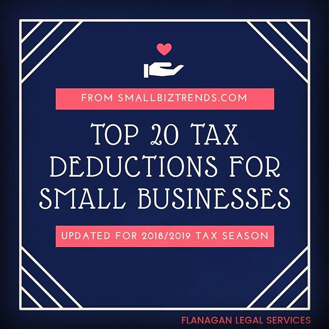 Supplies, home office expenses, mileage, and a few you may not expect. . A quick read and handy starting point for your conversation with a tax preparer to ensure your capturing all your deductible business expenses. . https://bit.ly/2prppav . . . #TaxTime #TheMOBNation #SmallBusiness #TipsAndTricks #AccountingRocks #MyInnerTaxGeekIsHappy