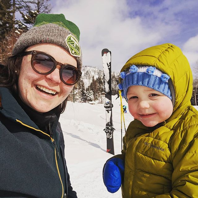 """Work, love, and play are the great balance wheels of man's being."" — Orison Swett Mardeb  I'm back from a week in snowy Montana with family.  I feel renewed, refreshed, and reenergized for the tax season ahead. . . . #ThoseCheeks #SnowDay #Priorities #LiveYourBestLife #SkiTheFish #LifeOitsideTheOffice #LawyersArePeopleToo #BoutiqueLawFirm #SmallBusiness #MomBusinessOwner #heyMOB"