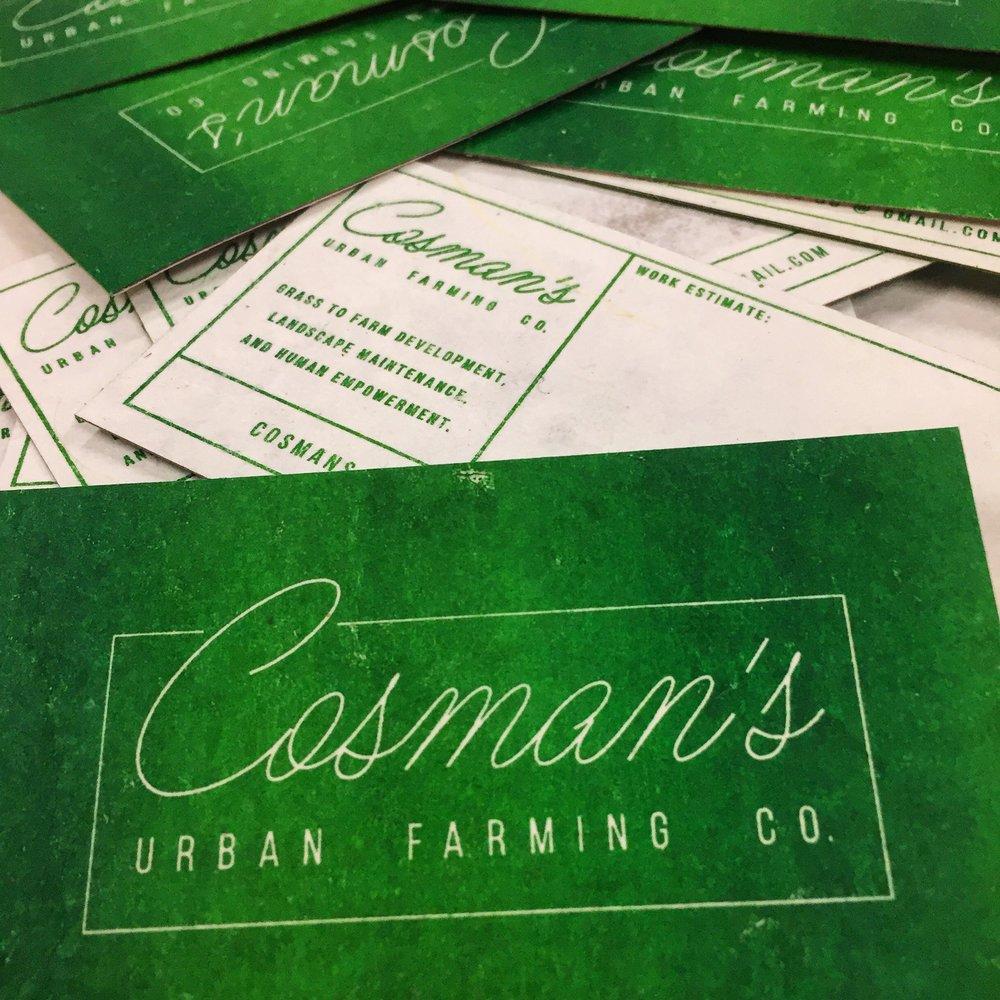 Cosman's Urban Farming Co. -
