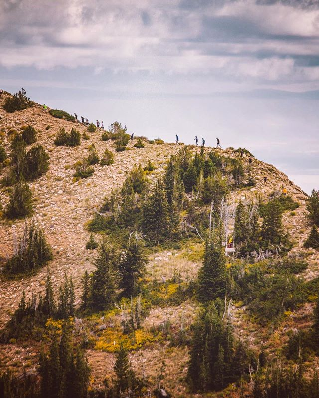 @snowbird is near. PC: @fearnowka #pushpeaks #onrunning #blackdiamond