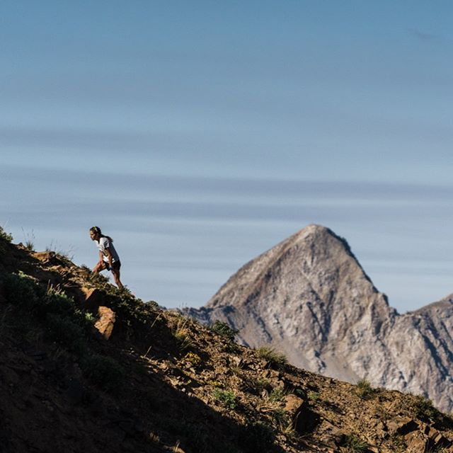 Honored for featured article in @atratrailrunner on @snowbird race, link in bio. @morganarritola PC: @dylantotaro #pushpeaks #onrunning #blackdiamond