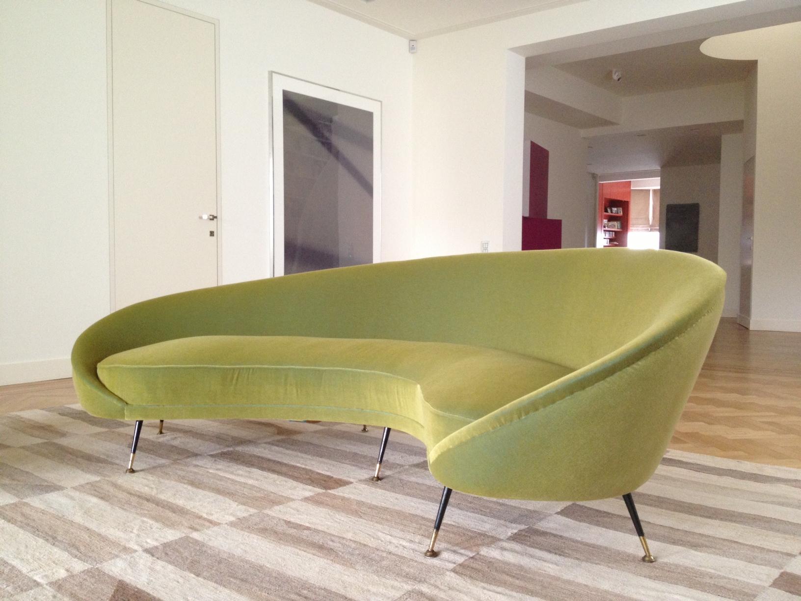 Comma sofa, Ico Parisi, 1957, Italy