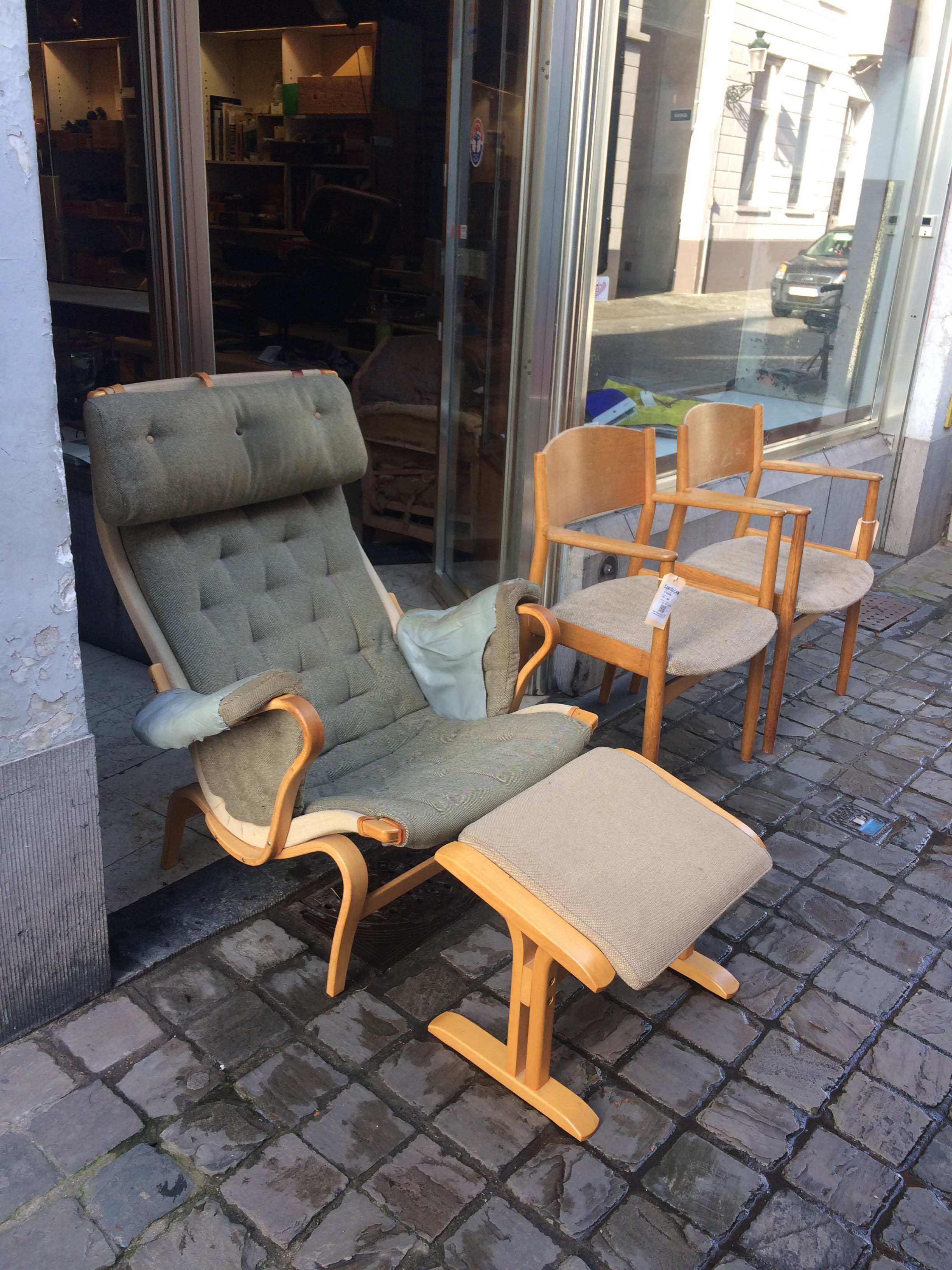 Pernilla chair, Bruno Mathsson, 1944, Denmark