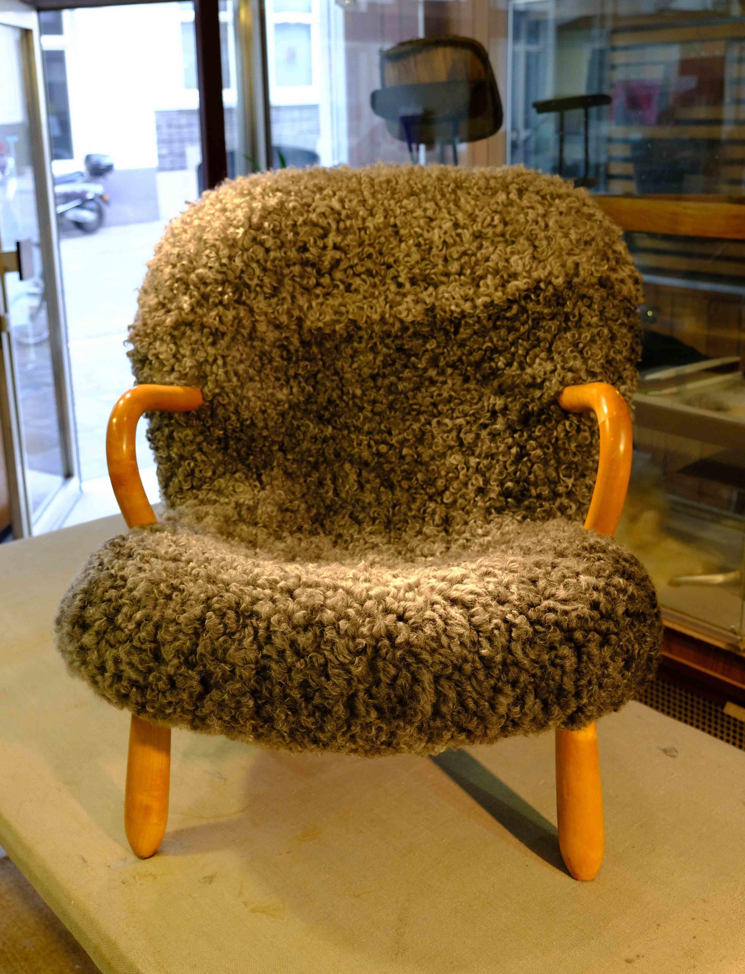 Clam chair, Philip Arctander, 1944, Denmark