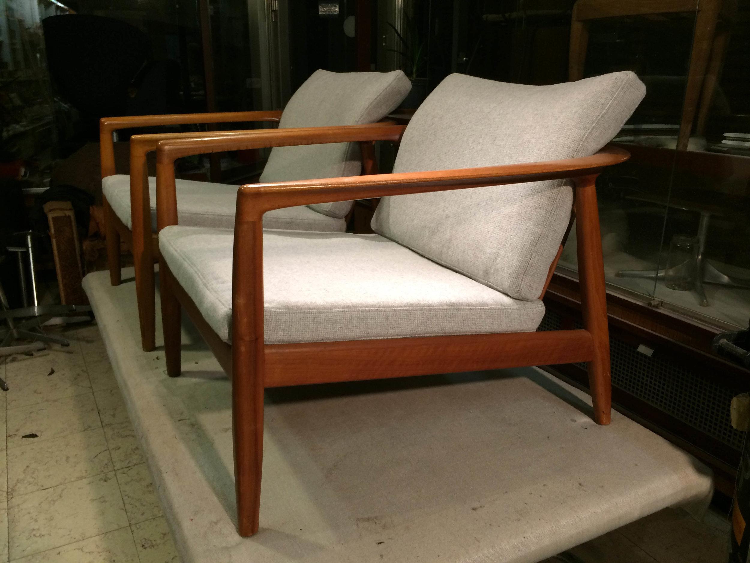 Dux lounge chair, Folke Ohlsson, 1955, Denmark
