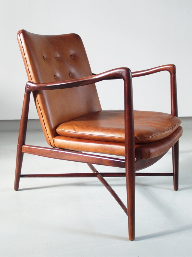 Westermann's fireside chair, Finn Juhl, 1946, Denmark. For Visavu Design.