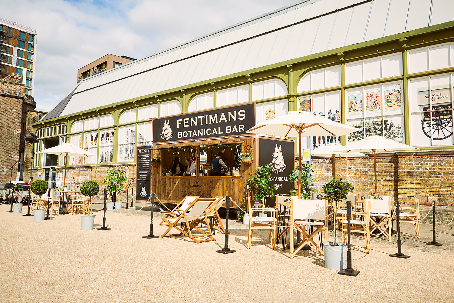 Fentimans Botanical Bar Quirky Group Bespoke Design and Build Project