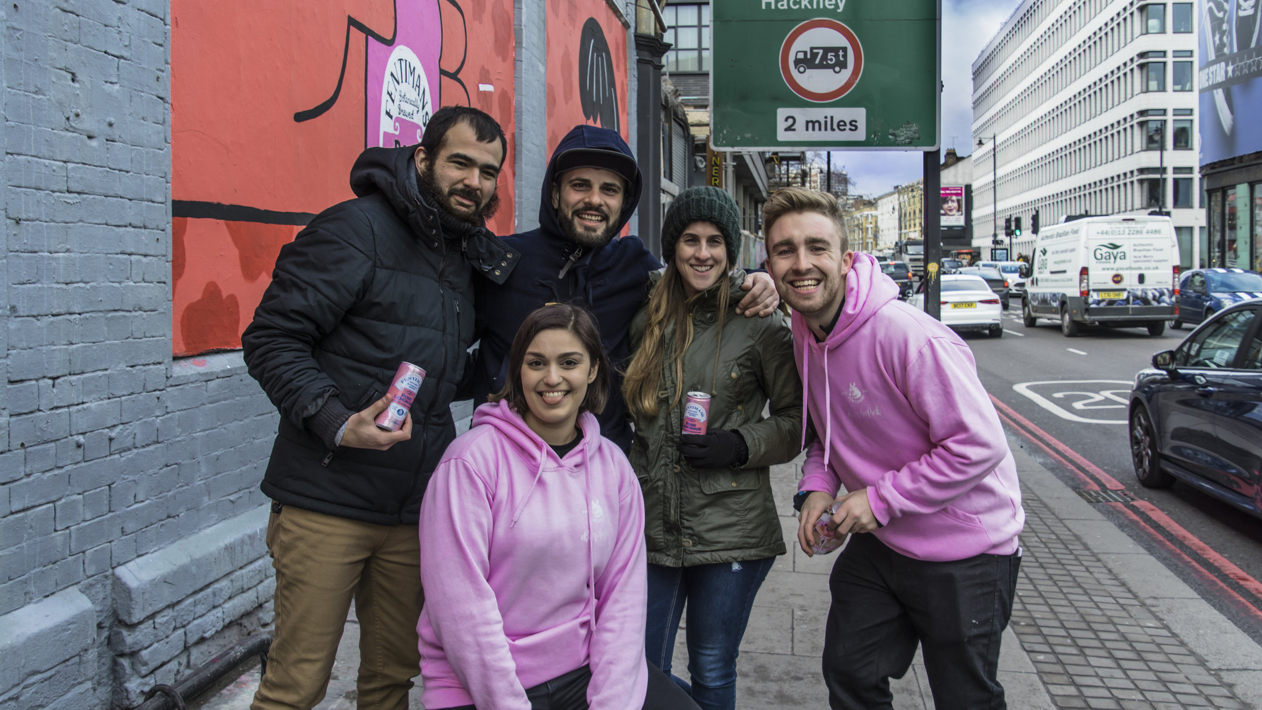 Fentimans Shoreditch Sampling Brand Ambassadors for Quirky Group