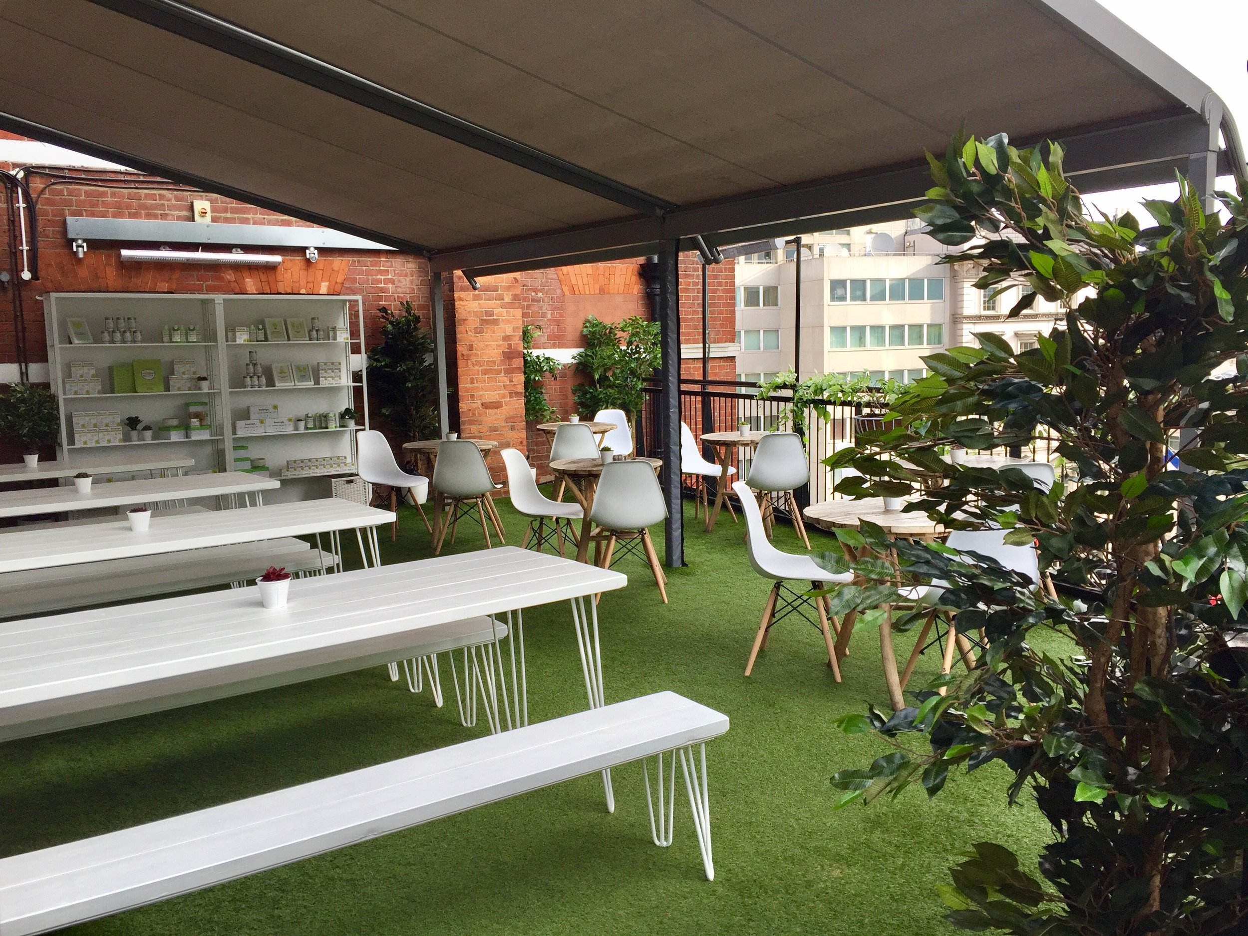 Quirky Group Harvey Nichols Teapigs Installation Popup