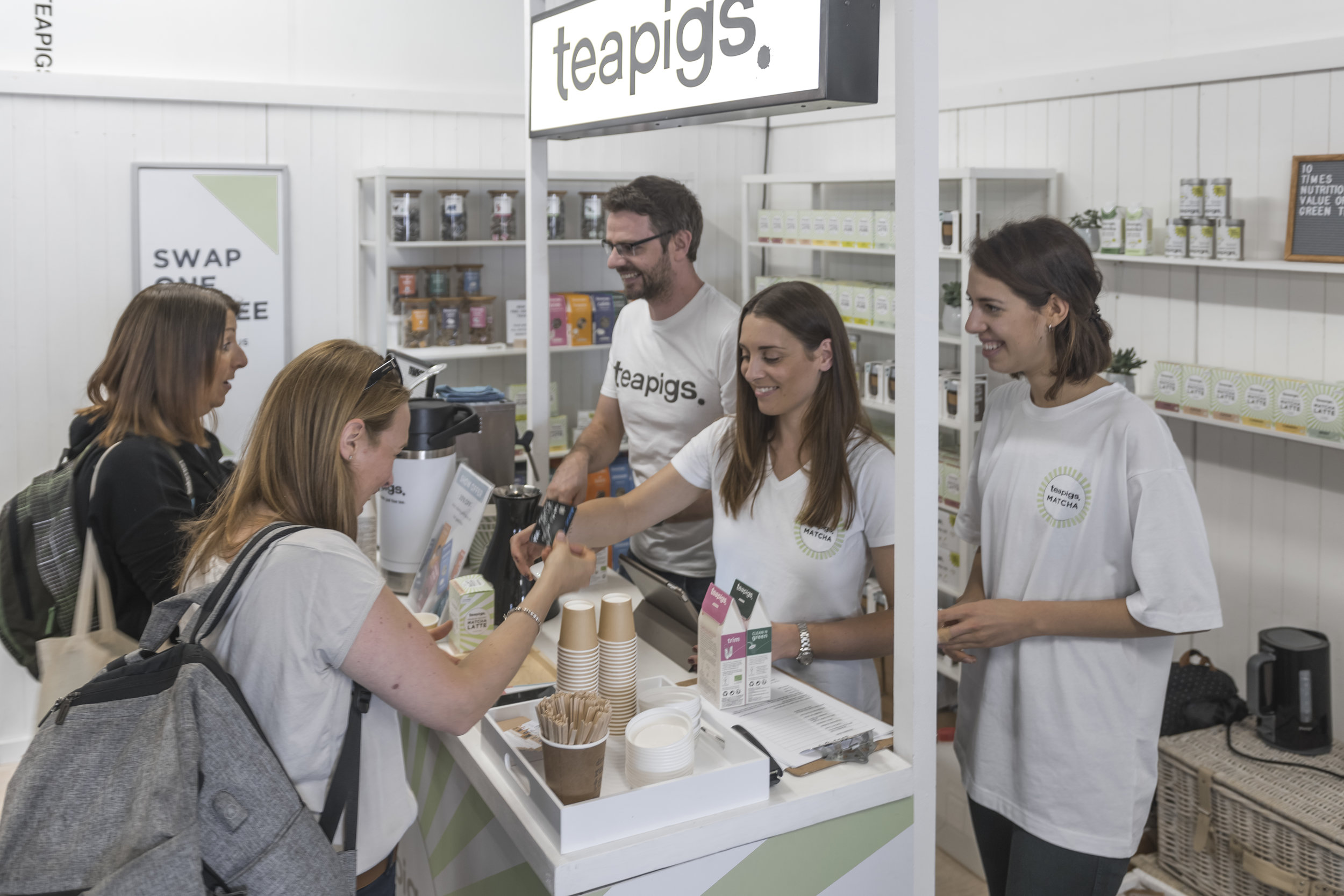 Teapigs Exhibition Stand Balance Festival