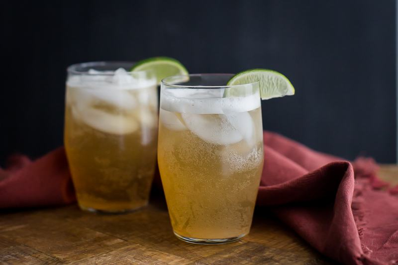 Recipe and image:    https://naturallyella.com/ginger-lime-fizz-non-alcoholic/