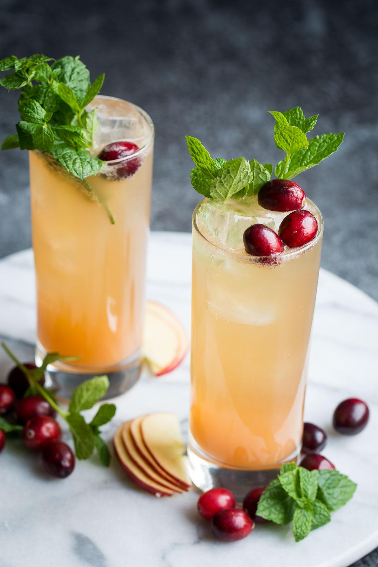 Recipe and image:    http://laurencariscooks.com/grapefruit-ginger-spritzer/