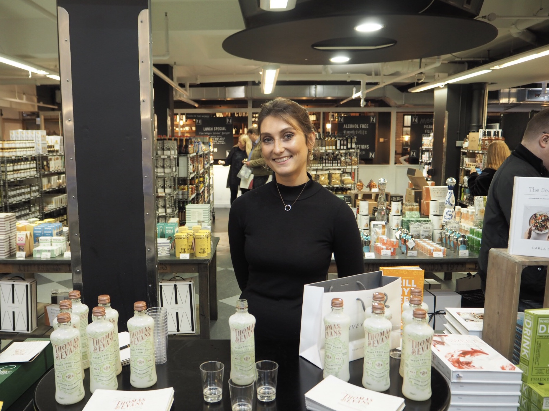 Thomas and Evans Sampling Harvey Nichols by Quirky Group