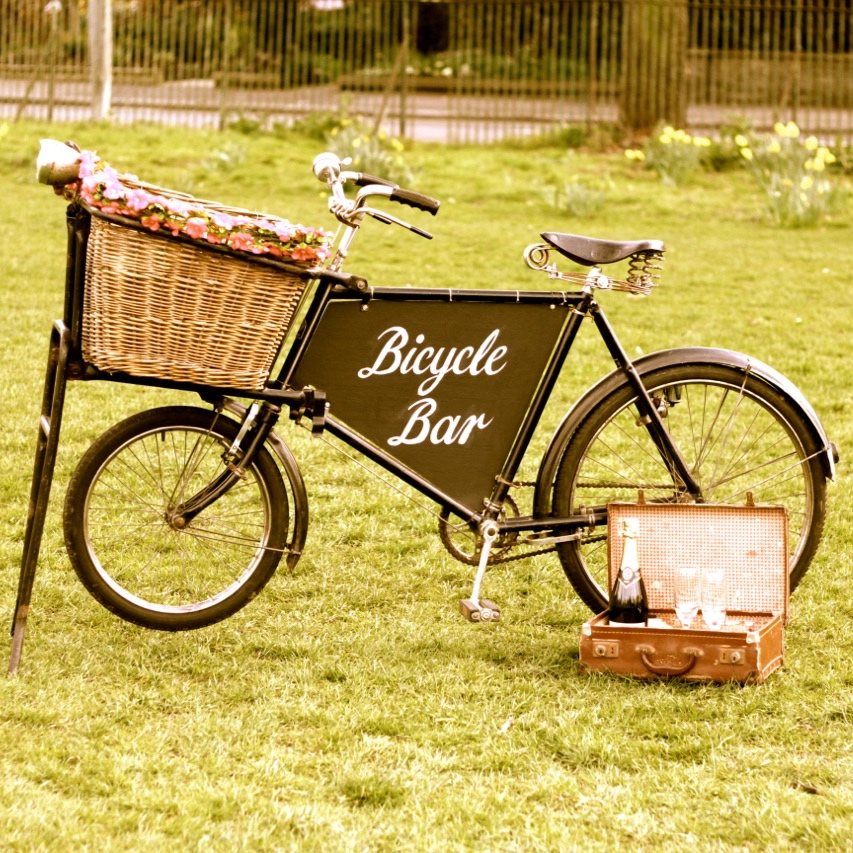 Bicycle Bar Quirky Group Prop hire
