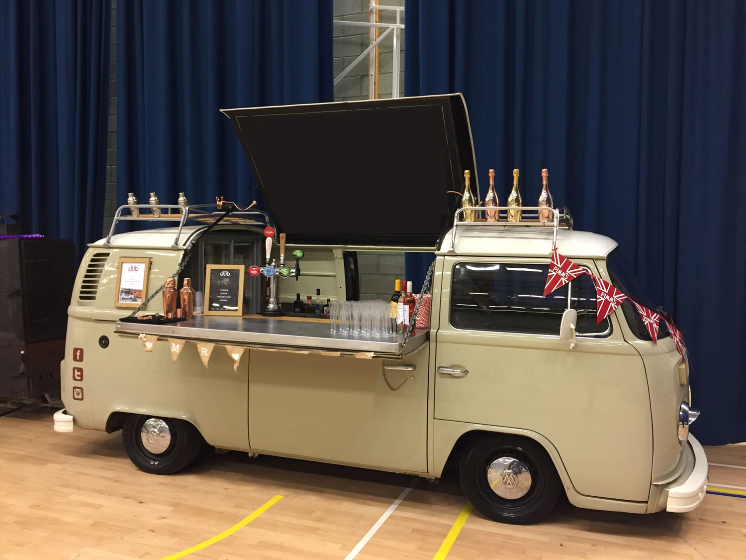 Quirky Group VW Camper Bar - for hire