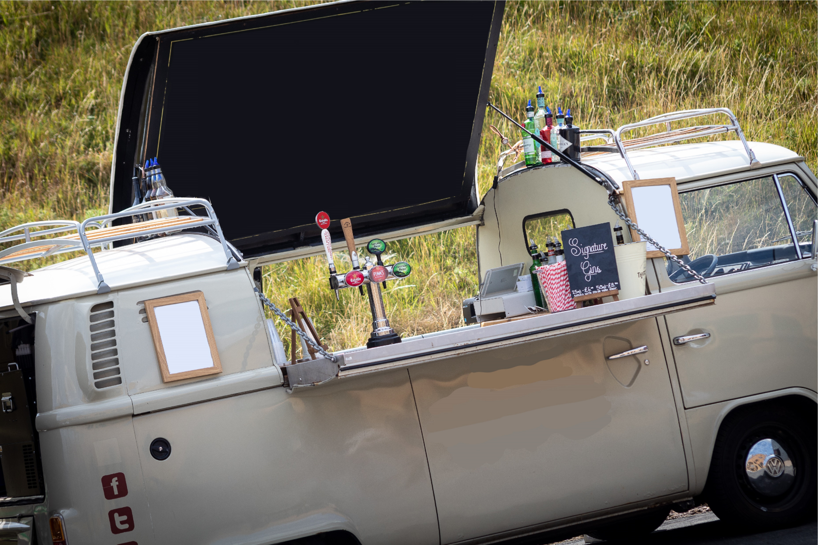 Quirky Group VW Camper Bar - beer on tap - available for hire