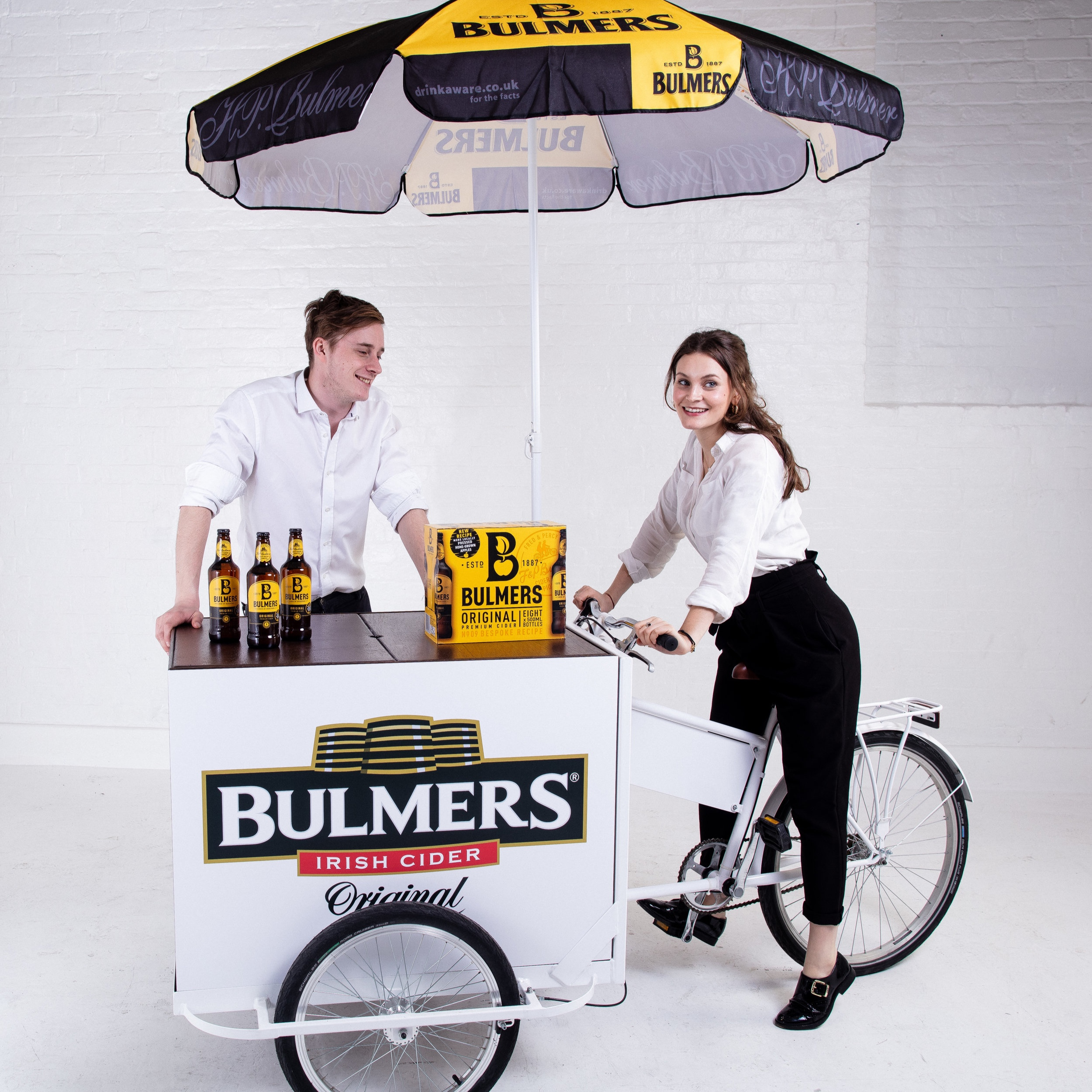 Quirky Group Cargo Trike Brand Sampling Activation