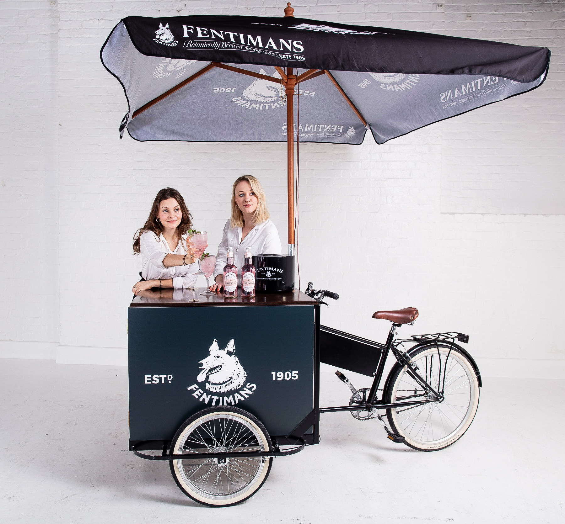 Quirky Group Branded Tricycle Bar for Hire with Brand Ambassadors
